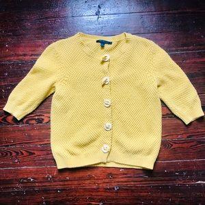 Boden Anthropologie | Short Sleeve Sweater | M